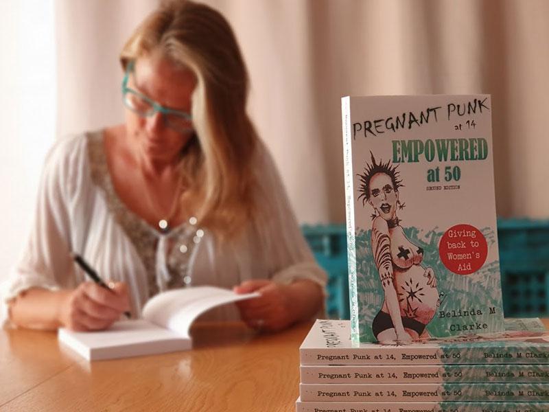belinda book signing